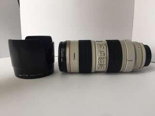 CANON LENS 70-200 f2.8 L IS USM