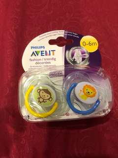 🚚 Philips Avent Pacifier 0-6 mth