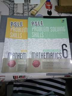 2 x Used P6 PSLE Mathematics Assessments