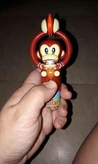 Monkey wd tambourine