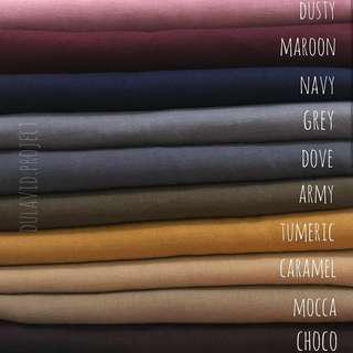 Katalog warna Kerudung segi4