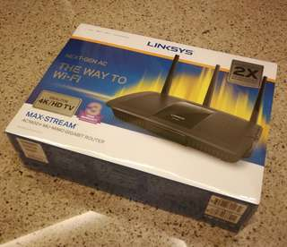 Linksys wireless home router AC1900+