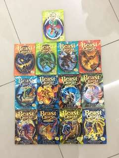 13 beast quest books