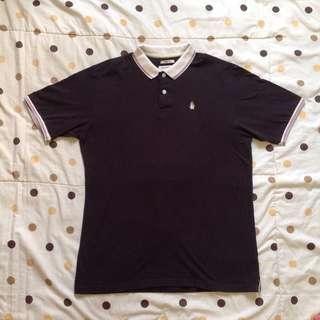 Hush Puppies Black Polo Shirt Original
