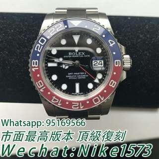 Rolex  勞力士格林尼治型II系列126710BLRO-0001機戒錶