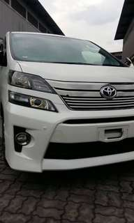 Toyota Vellfire GOLDEN EYE TYPE 2