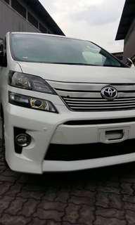 Toyota Vellfire GOLDEN EYE TYPE 2