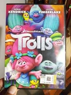 🚚 Trolls DVD