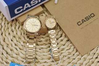 Casio couple waterproof oem watch