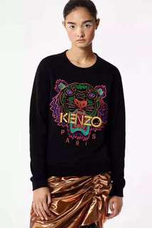 🚚 Kenzo Paris Tiger Shirt for Women Size S-XL