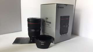 CANON LENS 24-70mm f2.8 L Mark 2