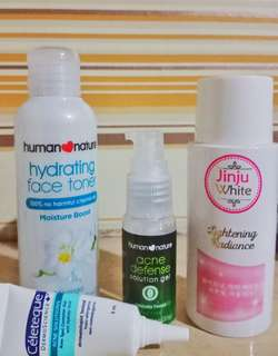 HUMAN ♥ NATURE BUNDLE SKIN CARE