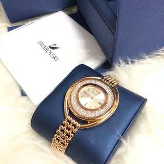 Authentic Swarovski Crystalline Oval Watch