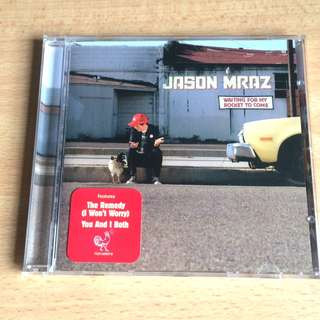 ORIGINAL Jason Mraz English Music CD