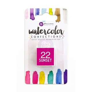 Prima Watercolor Confection Refills - Sunset 22