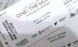 Wanna One Concert in Malaysia Ticket