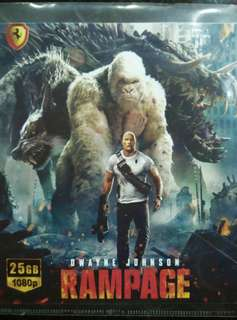 Rampage Blu Ray movie