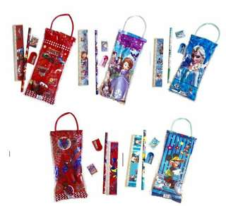 Kiddie party stationery set