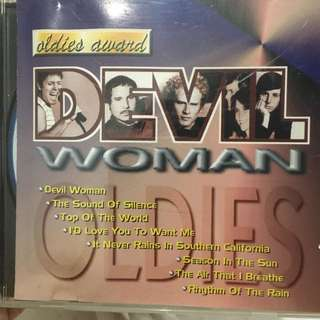 Woman oldies cd