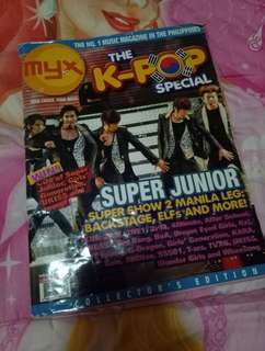 Myx Super Junior Cover Magazine