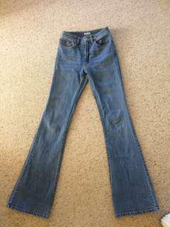 Brandy Melville Flare Jeans