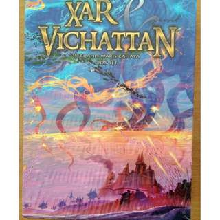 Novel Fantasi Xar & Vichattan Box Set - Soft Cover (3 buku)