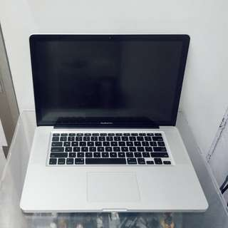 "Apple MacBook Pro 15"" (Mid 2010)"