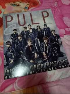 Pulp Magazine Super Junior
