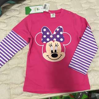 Disney baby Minnie tee size110
