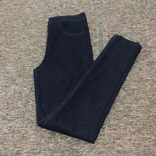 H&M black high waisted jeans / pants