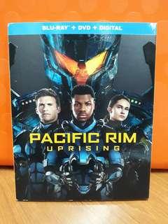 USA Blu Ray Slipcase - Pacific Rim Uprising