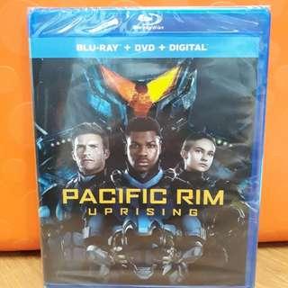 USA Blu Ray - Pacific Rim Uprising (ATMOS)