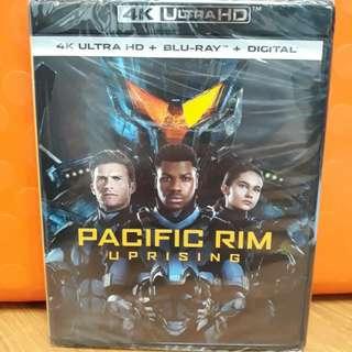 USA Blu Ray 4K UHD - Pacific Rim Uprising 4K (ATMOS)