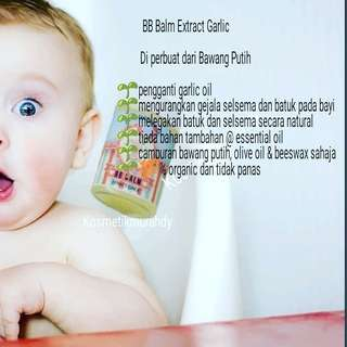 Baby Balm Garlic Extract