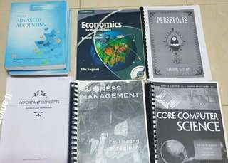 IB textbooks