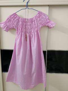 #July50 sweet shoulder dress