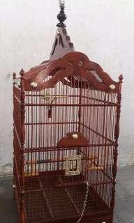 SANGKAR JATI (Baru) - Ukuran No.2 (35x43x60)