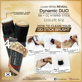 Luxxe White Reveal Dynamic Duo Stick
