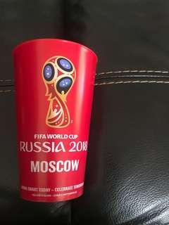 2018俄羅斯世界盃紀念膠杯