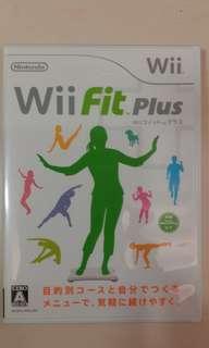 🚚 Wii Fit Plus日文版塑身遊戲光碟