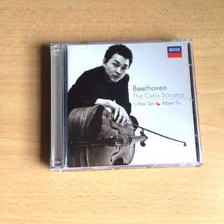 ORIGINAL Beethoven The Cello Sonatas Li-Wei Qin and Albert Tiu Classical Music CD