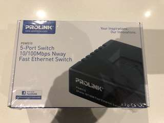 Prolink PSW510 5 port Ethernet Switch