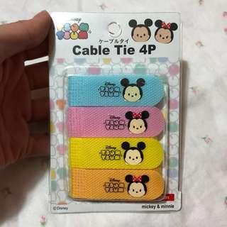 Tsum tsum cable tie Velcro
