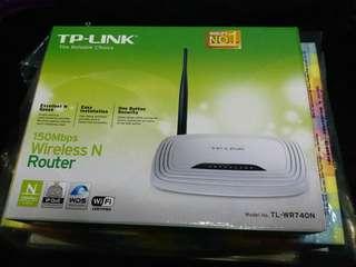 TP-LINK Router 無線 N 路由器 (TL-WR740N) 150Mbps