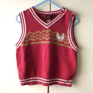 Baby Boys' Red Vest (18 mos)