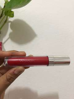 Wardah Exclusive Matte Lip Cream in No 06 (Feeling Red)