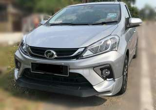 MUGEN RS new myvi'bodykits