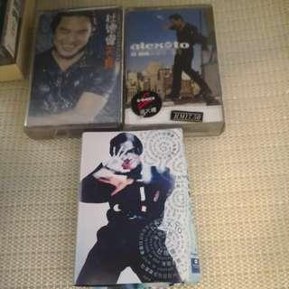 3 cassette 杜德伟