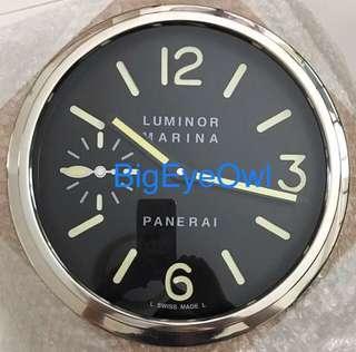 Panerai Clock Silver