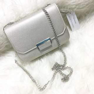 Charles & Keith Push Lock Shoulder Bag